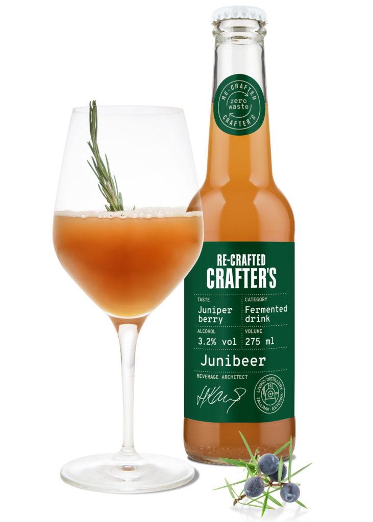 RE-CRAFTED CRAFTER'S JUNIBEER 3,2% vol image